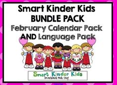 ***SPECIAL NOTE*** Updated with 2015 dates for Calendar and 15 new Language Slides!!!   February Math & Language Bundle pack for Smartboard - pick it up now!  Check out the preview - 79 pages!!!