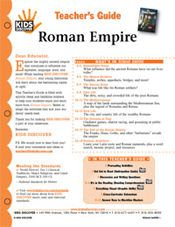 FREE 16-page Printable Lesson Plan for Kids Discover Roman Empire