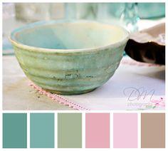 {pastel color palette}