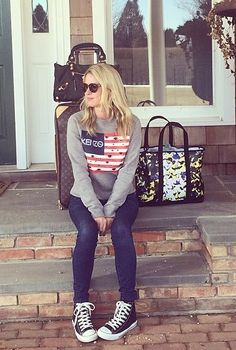 bf2ab00d840d Nicky Hilton wearing Balenciaga Giant Work Bag in Black Converse Chuck  Taylor All Star Canvas High