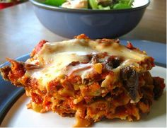 Cheesy Gluten Free Lasagna      Fiona F sent in this homemade gluten free lasagna. As an alternative to ours, this one has lots of fresh ricotta cheese that make it extra cheesy. Enjoy!