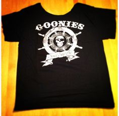 Goonies off the shoulder t-shirt by RetroCoutureandMore on Etsy https://www.etsy.com/listing/466475068/goonies-off-the-shoulder-t-shirt