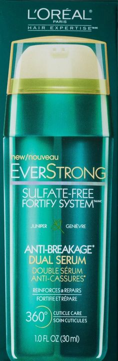 L'Oreal Paris Hair Expertise EverStrong Anti-Breakage Dual Serum-1 fl oz (30 ml) * To view further for this item, visit the image link.