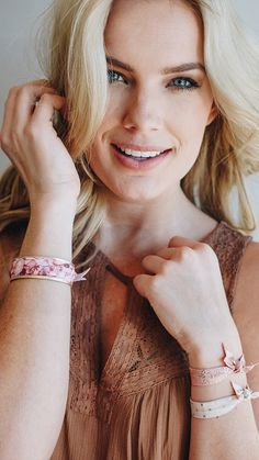 Fashion + Function. BANDED Hair Tie Bracelets are a great way to keep a hair tie on your wrist, while staying in touch with the latest trends!