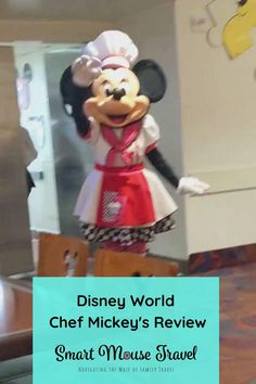 Trying to find a good Disney World character meal? Chef Mickey's has a great location, good food, and lots of fun character interaction. Disney World Characters, Disney World Florida, Meals, Meal, Yemek, Food, Nutrition