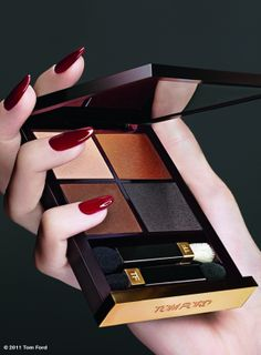 Tom Ford Makeup Collection, this is cognac sable. One of my favorite palettes