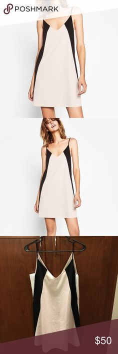 Zara Tricolor Mini Dress Zara Tricolor Mini Dress - NWT - Style no longer available Zara Dresses Mini