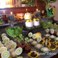 Festa limão siciliano - Papier Décor00