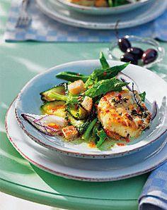 Salat mit Ziegenkäse - Herzhafte Gerichte für den Sommer - [LIVING AT HOME]