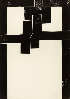 Eduardo Chillida, Barcelona I, ,71 x 50 cm (1971).