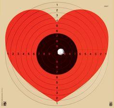 Shot Heart/Target by Patrick Thomas