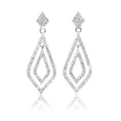Diamond Earrings *Prices Valid Until 25 Dec 2013 Gold Jewelry, Fine Jewelry, Diamond Earrings, Drop Earrings, Silver Rings, Bracelets, Christmas, Diamond Stud Earrings, Bangle Bracelets