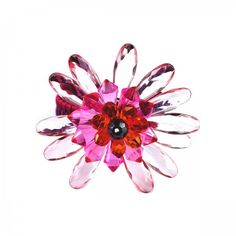 Lacrom - Sharra Pagano - Bracelet Clasp fastening with a flower made in resin.