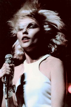 Debbie Harry performing in Las Vegas, 1979