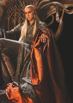GORGEOUS ELVEN KING THRANDUIL, played by my love, Lee Pace