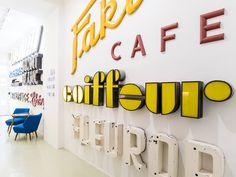 Next stop Vienna: Stadtschrift is the typographic signage shrine to visit…