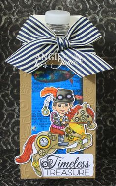 steampunk, digi, cowboy, horse, gears, cogs, digi stamps, boy, victorian, birthday, New Year