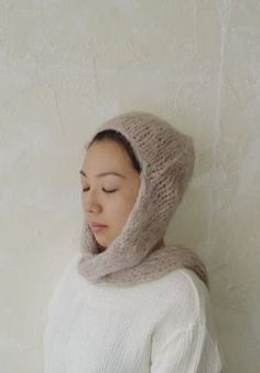 i want to make a knit hood/scarf combo.  sorry - no link; dumping a bunch of saved images from over the years.