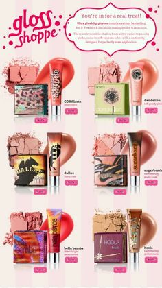 Benefits Cosmetics Blush and Gloss