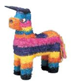 meer info op www.kadooken.be, pinata, piñata,