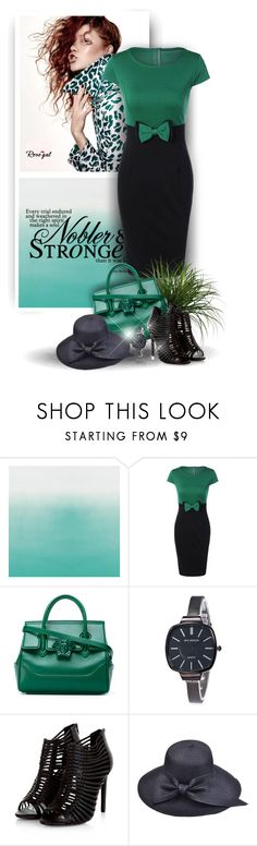 """""""Bodycon Dress by Rosegal 2_57"""" by christiana40 ❤ liked on Polyvore featuring Versace"""