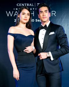 centraldepartmentstoreThe ever lovely & Nadech performing the spectacular finale at the Central Thai Princess, Strapless Dress Formal, Formal Dresses, Haute Couture Dresses, Perfect Couple, Book Photography, Bollywood Fashion, Bellisima, Cute Couples