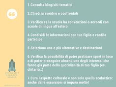 checklist vacanza studio all'estero