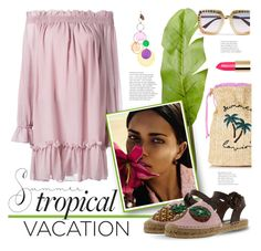 """""""Tropical vacation"""" by edita1 ❤ liked on Polyvore featuring Gucci, Pier 1 Imports, Alexander McQueen, Vision, Dolce&Gabbana, Missoni and TropicalVacation"""