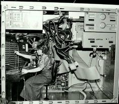 A rare picture of an early computer. :)