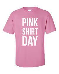 pink shirt day - Google Search