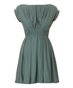 Take a look at this Duck Egg Blue Stefanie Dress by Louche on #zulily today!