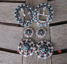 Diamond B Jewelry - Custom Made Buckle Sets