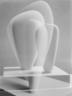 Barbara Hepworth / Double Exposure of Two Forms (1937)