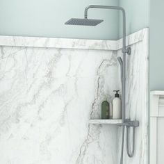 Shower Base, Shower Tub, Bathroom Showers, Bathroom Ideas, Shower Ideas, Bathroom Updates, Rainfall Shower, Bath Ideas, Bathroom Designs
