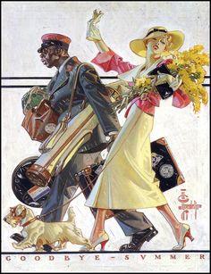 J.C. Leyendecker - 1934