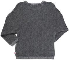 "Sweater  Appaman Girls' ""Dolman"" Sweater (Toddler/Kid) – Heather Grey – 4T SALE!!!"