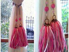 sujetadores para cortinas - borlas y colgantes decorativos en Belgrano, vista previa