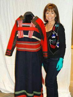 Ojibwe strap dress