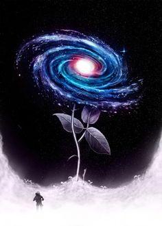 My Little Flower Canvas Artwork by Nicebleed Flower Canvas, Flower Art, Canvas Artwork, Cool Artwork, Metal Artwork, Galaxy Wallpaper, Wallpaper Backgrounds, Galaxy Art, Poster Prints