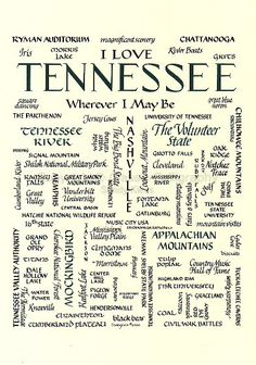 Notice Elizabethton is in the lower left side of the poster.