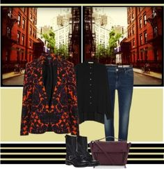Icelle's Outfit Collage- The Statement Jacket - TrendSurvivor