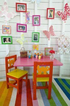 colourful kiddies space