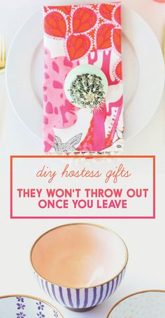 DIY Hostess Gifts They Won't Throw Out Once You Leave