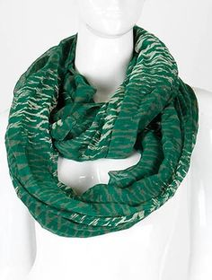 SHEER PRINT INFINITY SCARF ONE SIZE FITS ALLPRINT INFINITY SHEER WOVEN 72 INCH LONG X 36 INCH WIDE 100% POLYESTER Brand new $10