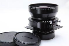Nikon Nikkor w 360mm F 6 5 Lens w Black Copal 3 Linhof Board EXC   eBay