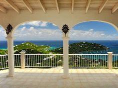 Veranda over the ocean for elegant weddings.