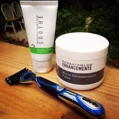Great gift for the men in your life! Rodan and Fields microdermabrasion paste for exfoliation for a close shave followed by soothe sensitive skin treatment to use right after shaving... No more bumps! kgoold.myrandf.com