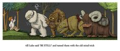 Star Wars & Where the Wild Things Are mashup