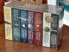 A song of ice and fire game of #thrones 7 book box set #westeros and #cities map,  View more on the LINK: http://www.zeppy.io/product/gb/2/252484271285/