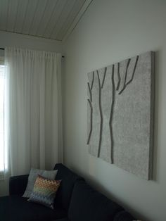 Curtain, curtain holder and that frame..